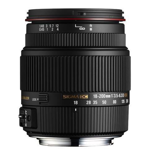 Sigma 18-200mm f/3.5-6.3 II DC OS HSM (Canon AF)