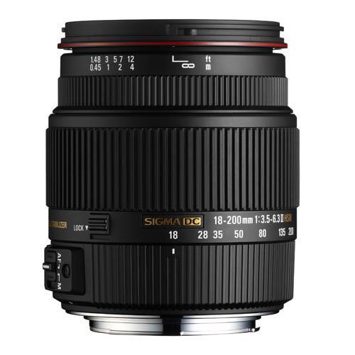 Sigma 18-200mm f/3.5-6.3 II DC OS HSM (Nikon AF)