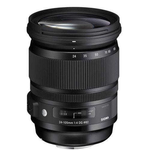 Sigma 24-105mm f/4 DG OS HSM A Lens (Canon)