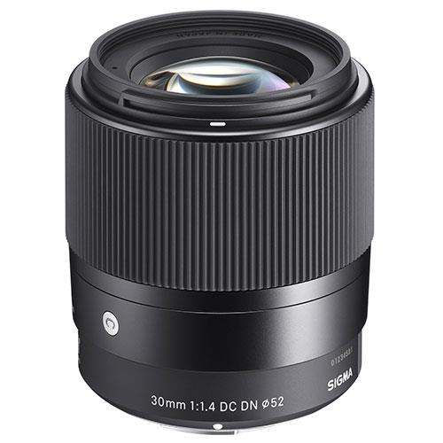 Sigma 30mm f/1.4 DC DN Lens Sony E Mount