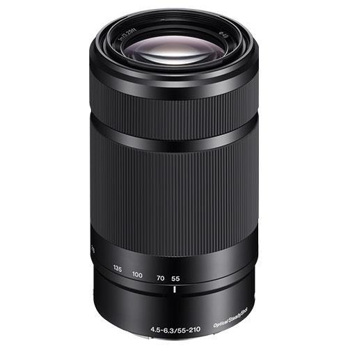 Sony E 55-210mm f4.5-6.3 OSS Lens