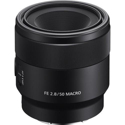Sony FE 50mm Macro f/2.8 Lens