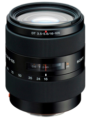Sony DT 16-105mm F/3.5-5.6 Standard Zoom Lens