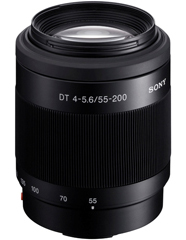 Sony DT 55-200mm F4-5.6 Telephoto Zoom Lens