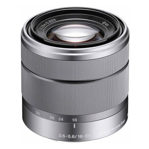 Sony E 18-55mm f/3.5-5.6 OSS Lens