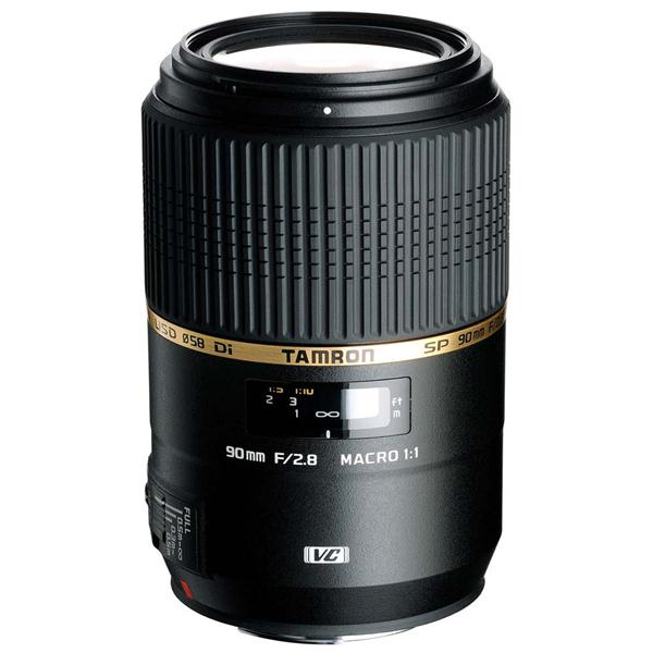 Tamron SP 90mm f/2.8 Di VC USD Macro Lens for Canon