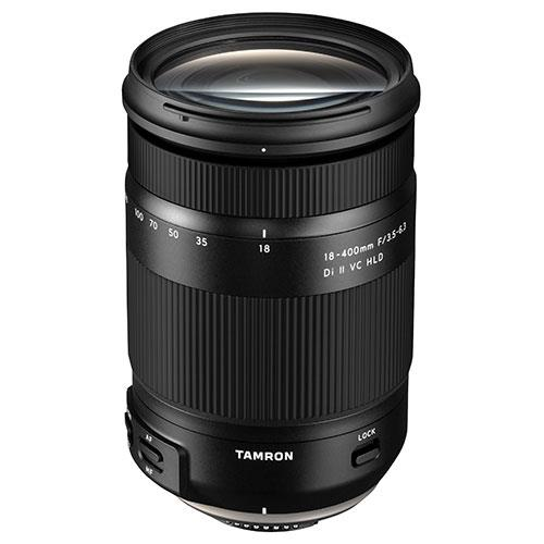 Tamron 18-400mm f/3.5-6.3 Di II VC HLD Lens for Canon