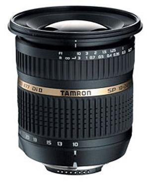 Tamron SP 10-24mm f/3.5-4.5 Di II (Canon AF)