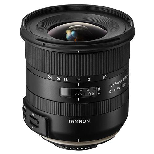 Tamron 10-24mm F/3.5-4.5 Di II VC HLD Lens for Nikon