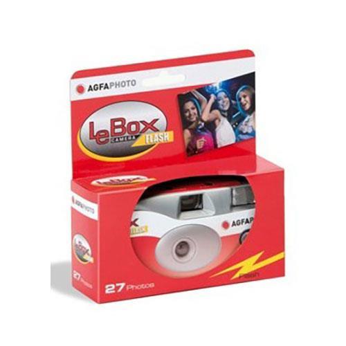 Agfaphoto Lebox Flash Single Use Camera 27 Exposures
