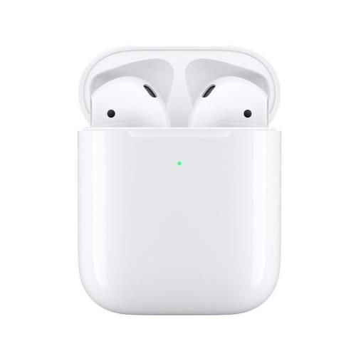 Apple AirPods with Wireless Charging Case (2nd Generation) White