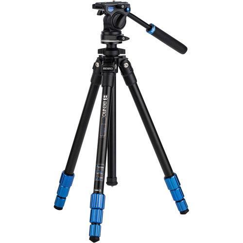 Benro Slim Video TSL08AS2CSH Aluminium Tripod Kit