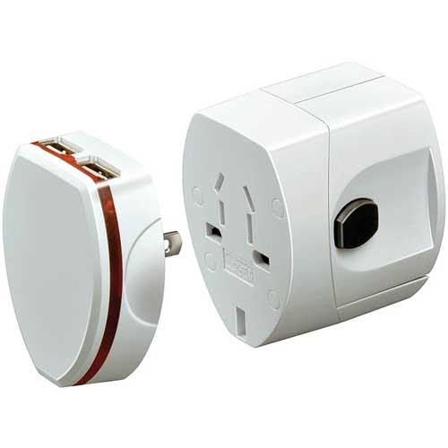 Brennenstuhl World Travel Adapter BWA USB