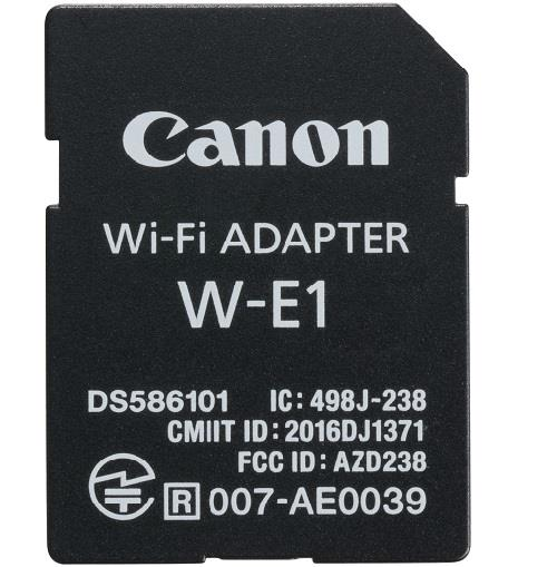 Canon W-E1 WiFi Adapter