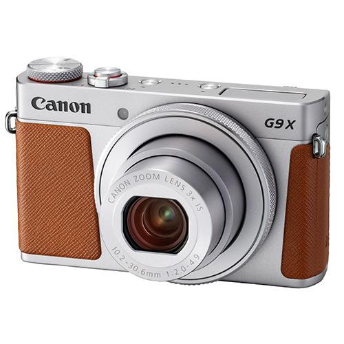 Canon PowerShot G9 X Mark II Compact Camera in Silver