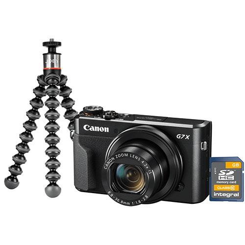 Canon PowerShot G7 X Mark II Vlogging Kit