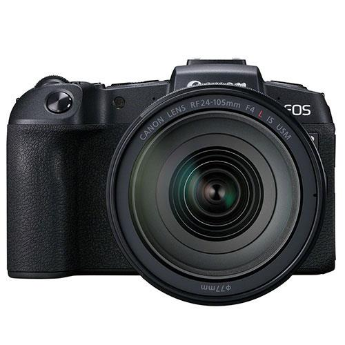 Canon EOS RP Mirrorless Camera with RF 24-105mm f/4 L IS USM Lens and Lens Mount Adapter - Ex Display