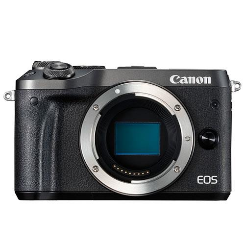 Canon EOS M6 Mirrorless Camera Body in Black