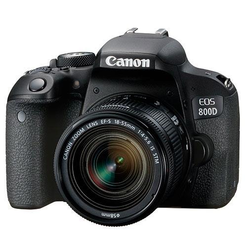 Canon EOS 800D Digital SLR with 18-55mm STM Lens