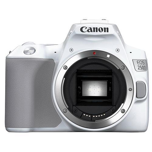 Canon EOS 250D Digital SLR Body in White