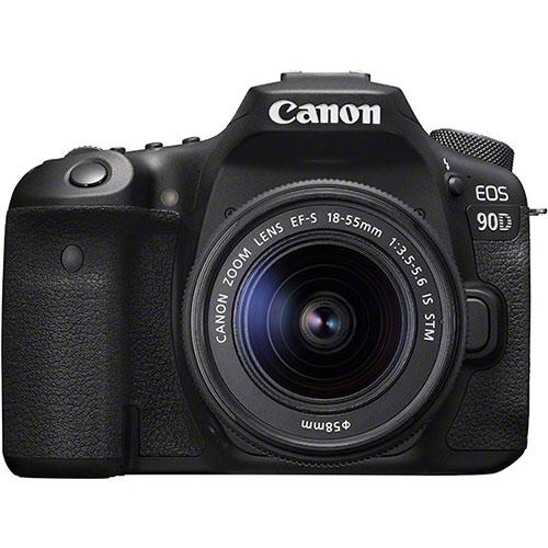 Canon EOS 90D Digital SLR with EF-S 18-55mm f/3.5-5.6 IS STM Lens