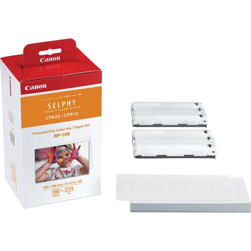 Canon RP-108  Ink/Paper for Selphy Printers