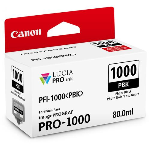 Canon PFI-1000PBK Photo Black Ink Cartridge