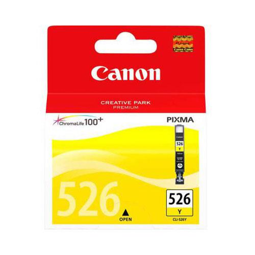 Canon CLI-526 Yellow Ink Cartridge - Ex Display