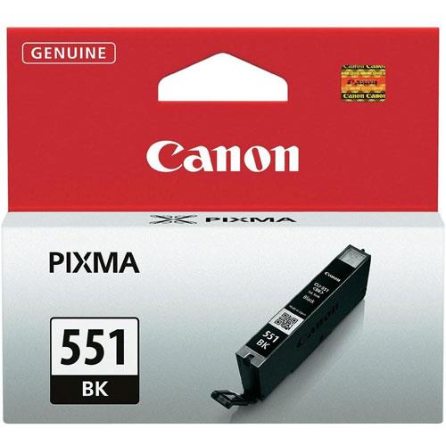 Canon Black Ink Tank - CLI-551BK