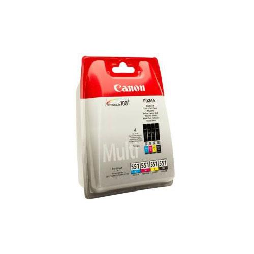 Canon CLI-551 Multi Pack Ink Cartridge C/M/Y/BK