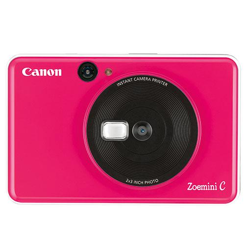 Canon Zoemini C Instant Camera in Bubble Gum Pink