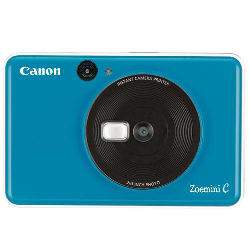 Canon Zoemini C Instant Camera in Seaside Blue