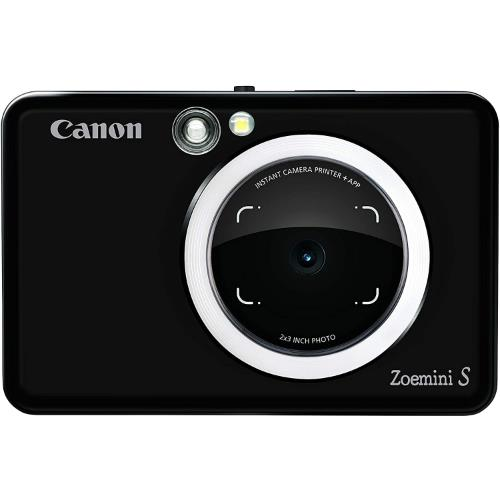 Canon Zoemini S Instant Camera in Matt Black - Ex Display