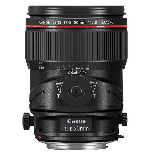 Canon TS-E 50mm f/2.8L Macro Lens
