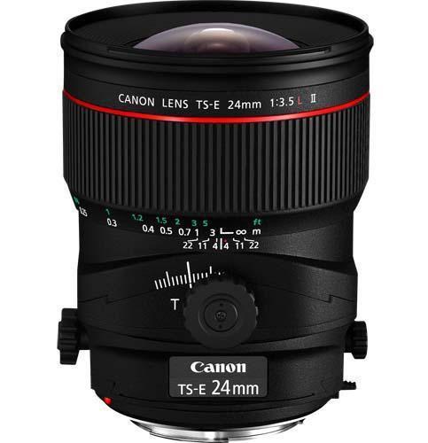 Canon TS-E 24mm f3.5L Mk II Lens - Ex-Display