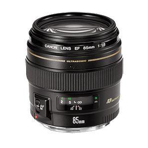 Canon EF 85mm f/1.8 USM Lens