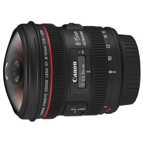 Canon EF 8-15mm f/4L USM Fisheye Lens