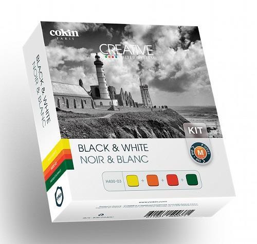 Cokin Black and White Kit