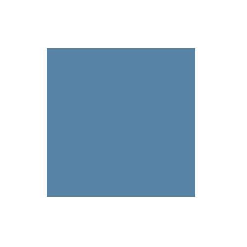 Colorama 2.72x11m China Blue Paper Background