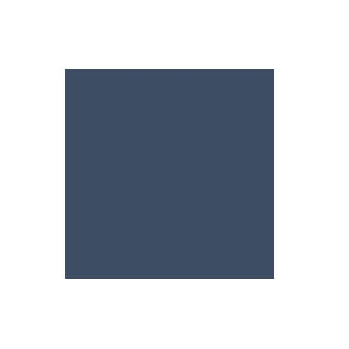 Colorama 2.72x25m Oxford Blue Paper Background