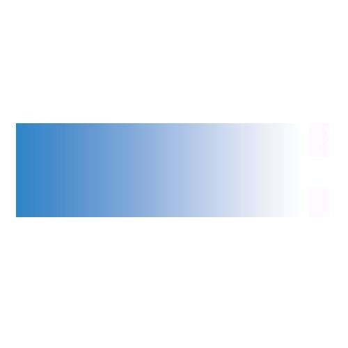 Colorama 100x170cm White/Bluebell Colorgrad Background