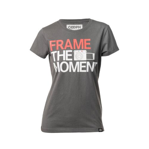 COOPH T-Shirt Frame Dark Shadown Size S Female