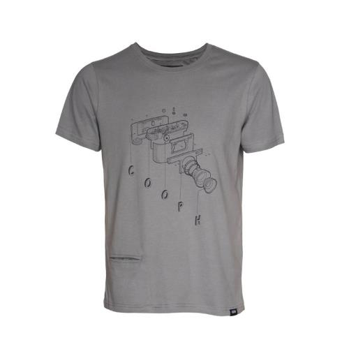 COOPH T-Shirt CooCam Mud Size M Male