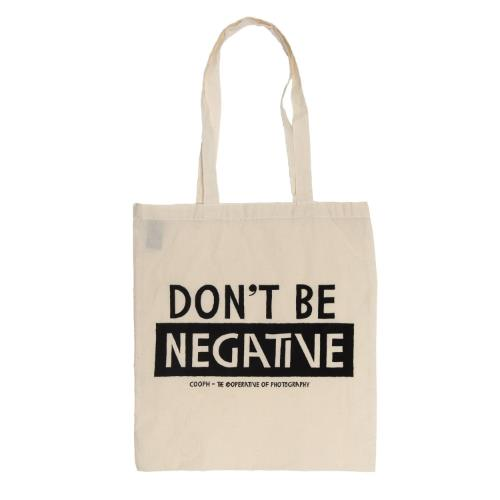 COOPH Canvas Bag Don't Be Negative