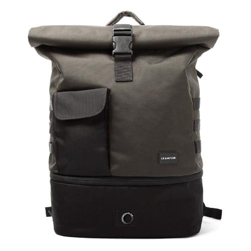 Crumpler Trooper Backpack Charcoal / black