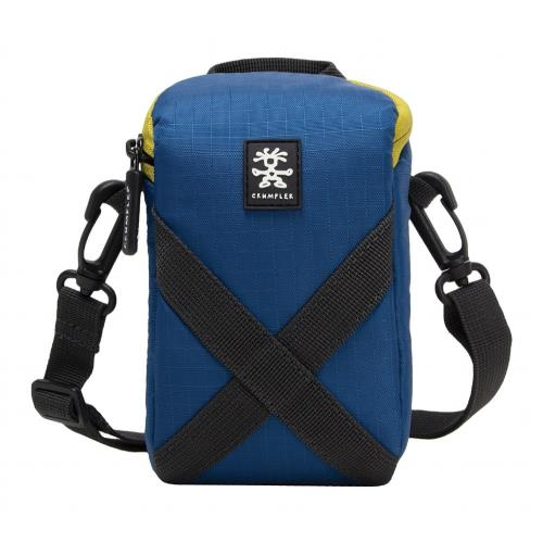 Crumpler Drewbob Pouch 200 Case in Blue / Lime