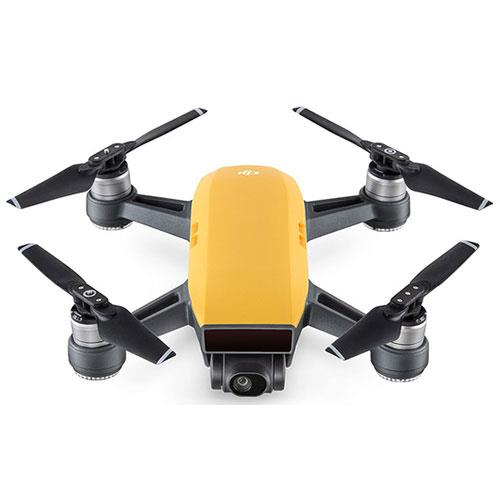 DJI Spark Drone in Yellow