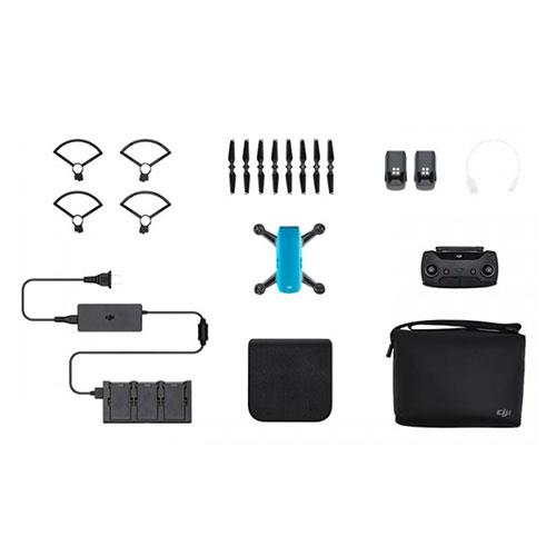 DJI Spark Drone Fly More Combo in Blue