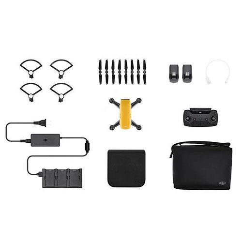 DJI Spark Drone Fly More Combo in Yellow