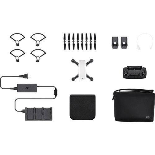 DJI Spark Drone Fly More Combo in White - Refurbished